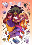 Rainette a witchy webcomic