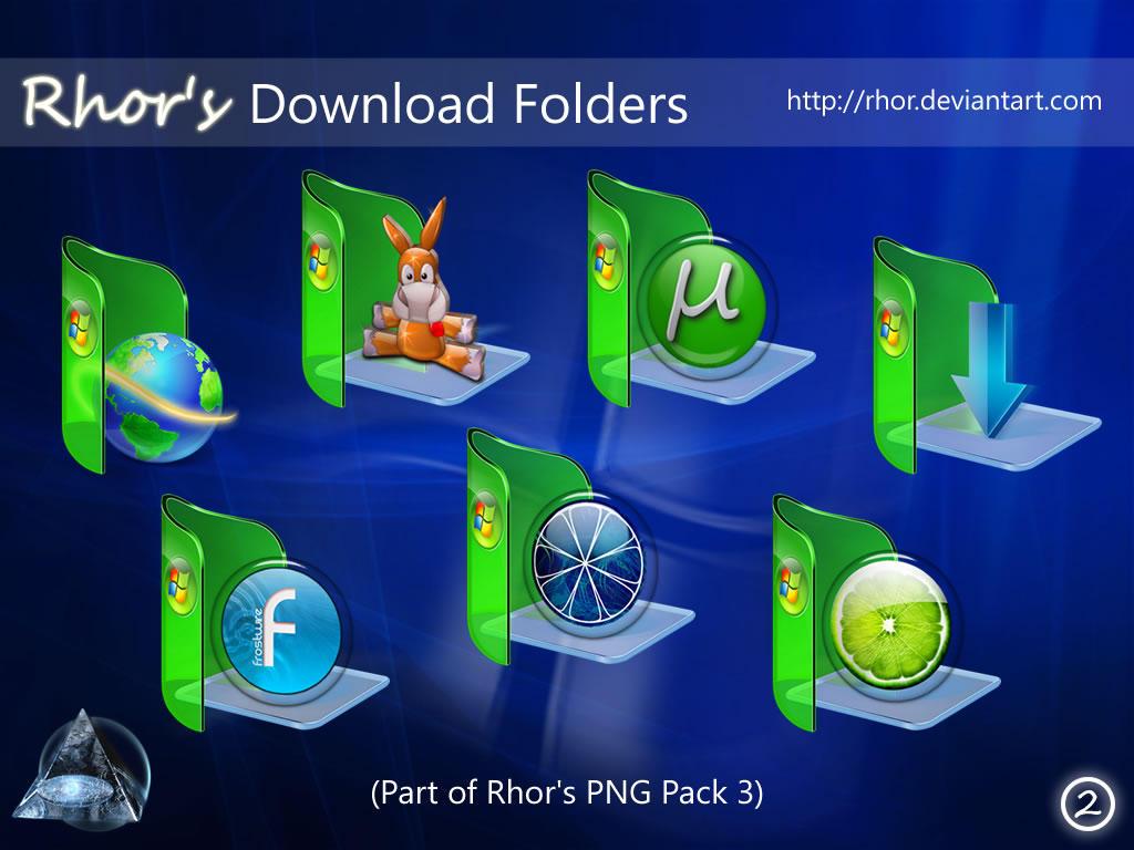 Rhor's Downloads Folders v3 by Rhor
