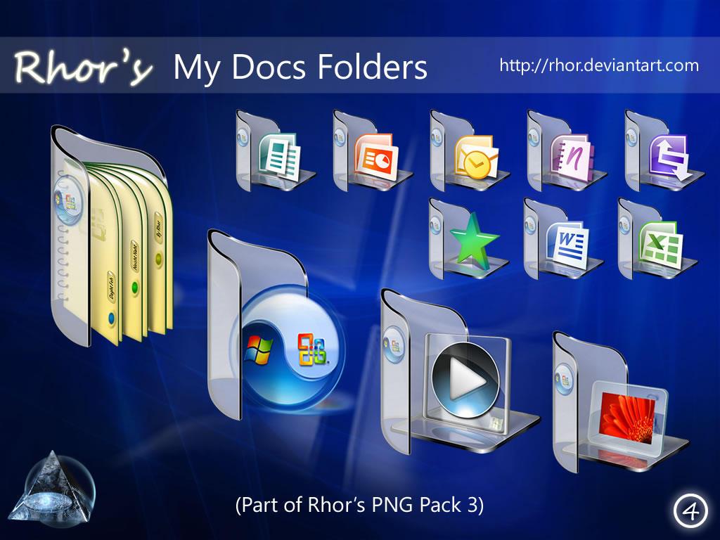 Rhor's My Docs Folders v3 by Rhor