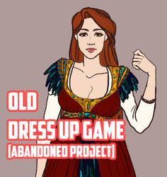 Abandoned Dress Up Game - 2015 by Elequinoa