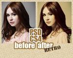 retro colouring photoshop