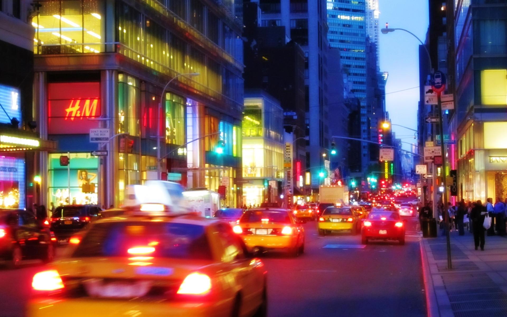 New York Night by molotov-arts