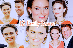 Emily Deschanel Icon Pack 2 by LissBlueJays