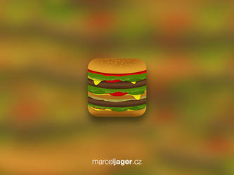 Burger icon by playerPS