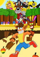 Crash Bandicoot by DalrikRondrin48