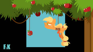 Apple Ropin' Gone Awry Animation