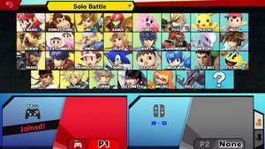 Super Smash Bros. Ultimate E3 CSS
