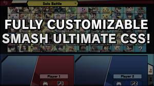 Super Smash Bros. Ultimate FULL CSS