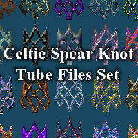 Celtic Spear Knots PSD Format by Aazari-Resources