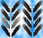 Feathered Wings 2A Stock Pack