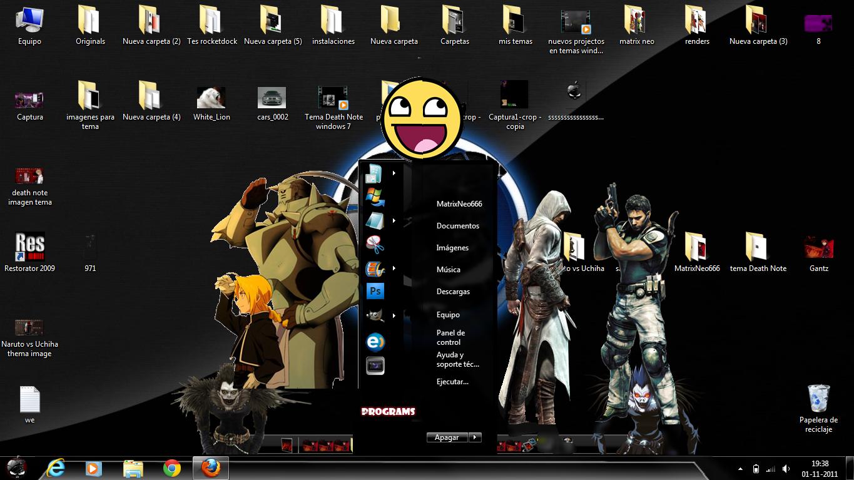 Descargar Tema Death Note Windows 7 Free Download