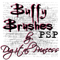 Buffy Brushes For PSP by DigitalPrincess