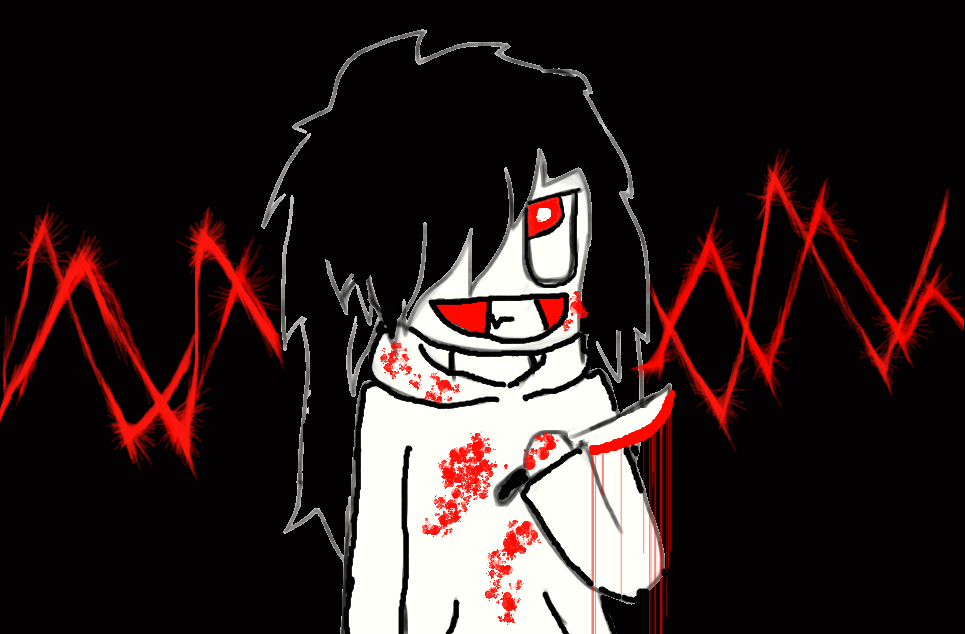 redraw jeff the killer - photo #49