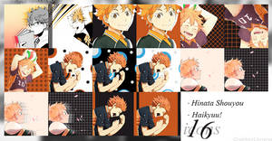 Hinata Shouyou 16 Icons by Graphic's Universe
