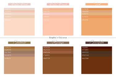 Skin Tones Palette - Graphic's Universe