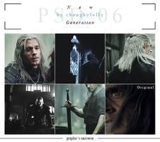 .psd coloring | new gen. 06 Geralt of Rivia