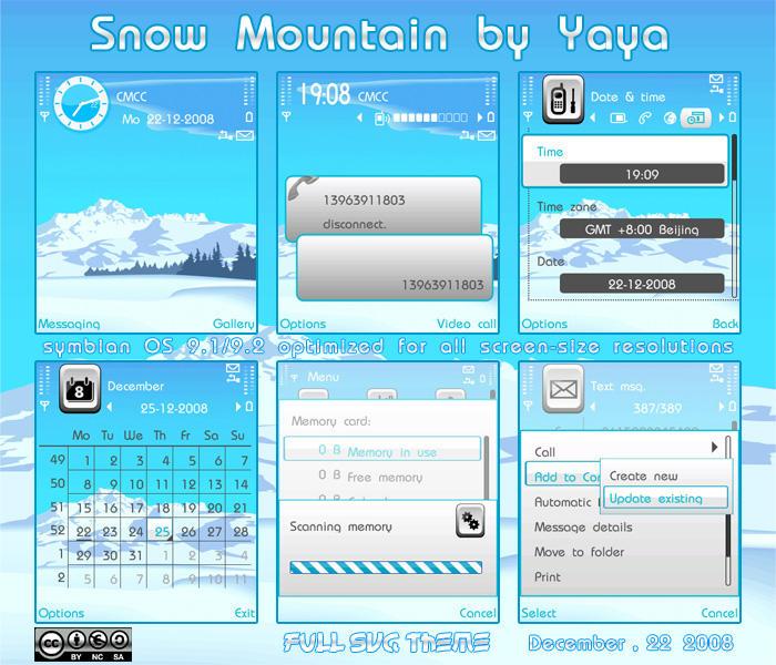 SNOW MOUNTAIN BY YAYA by qiqi13963911803