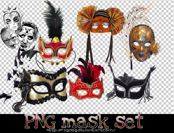 Png Mask Set by RagdeG