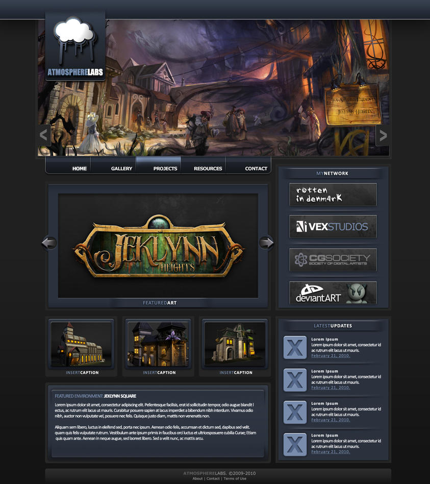Free website template psd by xxbenji on deviantart for Free drawing websites