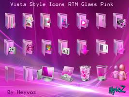 Vista Style RTM Pink  PNG Icon by Heyvoz