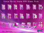Vista Style RTM Pink  PNG Icon