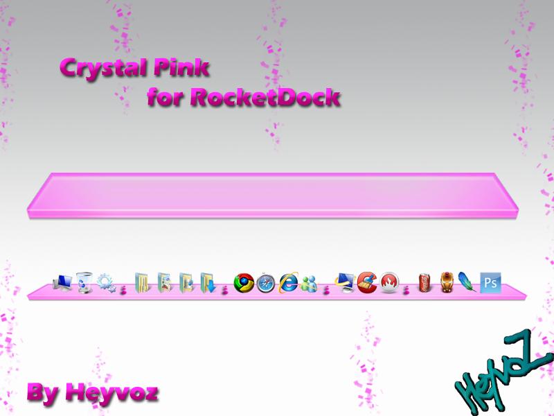 rocketdock pink