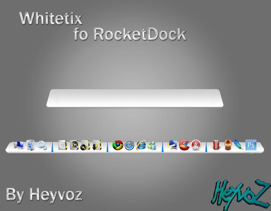 Whitetix for RocketDock
