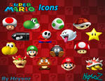 Super Mario Bros Icons
