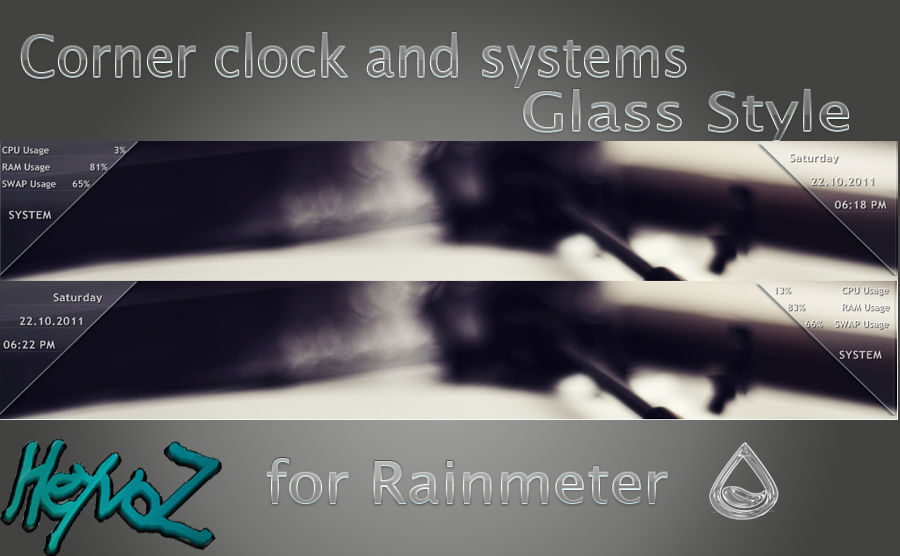 Corner clock and systems