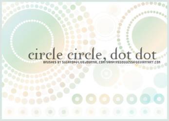 Circle Circle, Dot Dot by VampyreGoddess