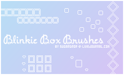Blinkie Box Brushes by VampyreGoddess