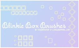 Blinkie Box Brushes