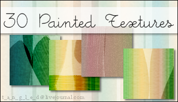 30 Painted Textures by VampyreGoddess