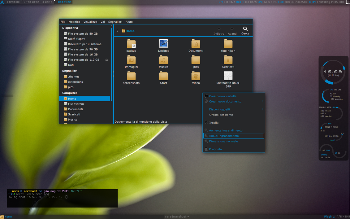 Elegant-Arch gtk3 by TheDeviantMars