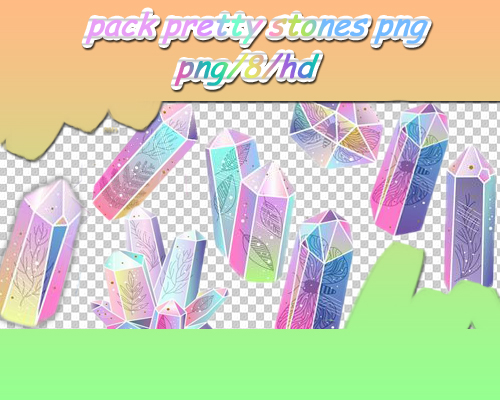 pack pretty stones by theoskater11