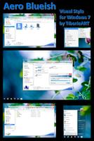 Aero Blueish for Windows 7 by TiborioART