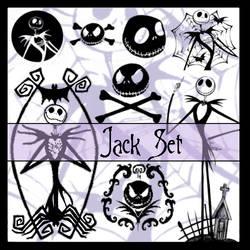 Brushes - Jack Skellington Set