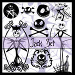 Brushes - Jack Skellington Set