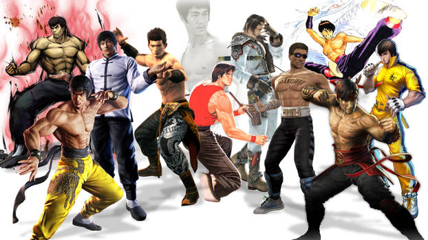 Video Game Archetypes: Bruce Lee Homages