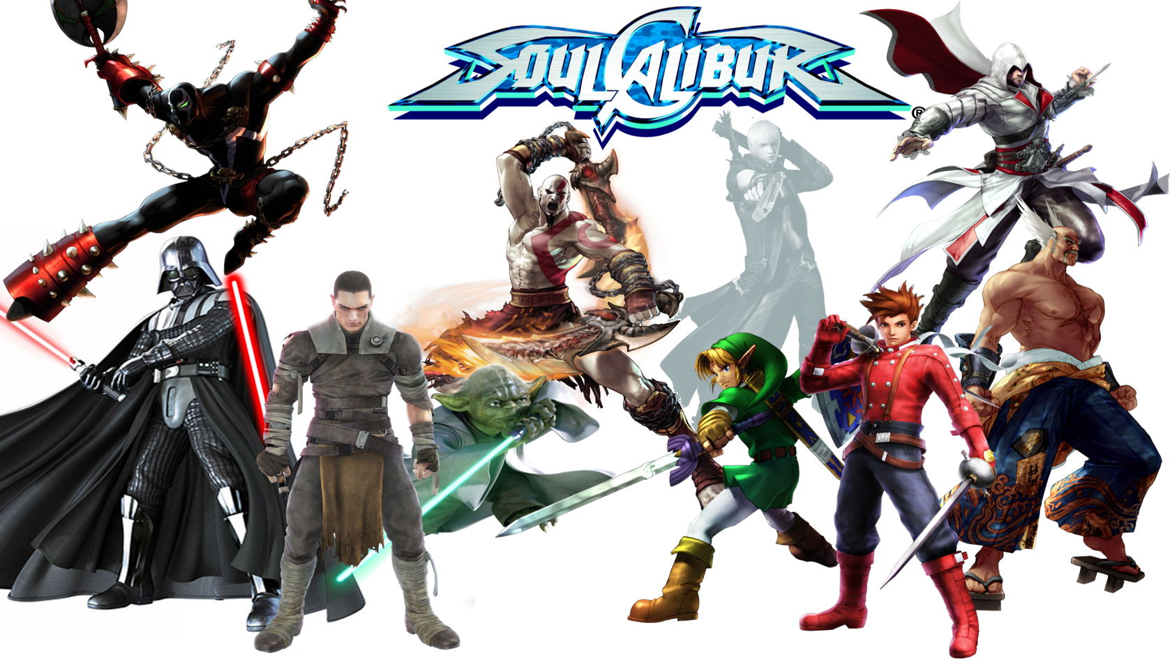 Soul Calibur Guest Characters by The4thSnakeSoul Calibur 1 Characters