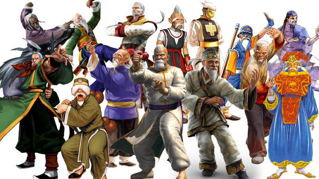 Video Game Archetypes: Chinese Martial Arts Master