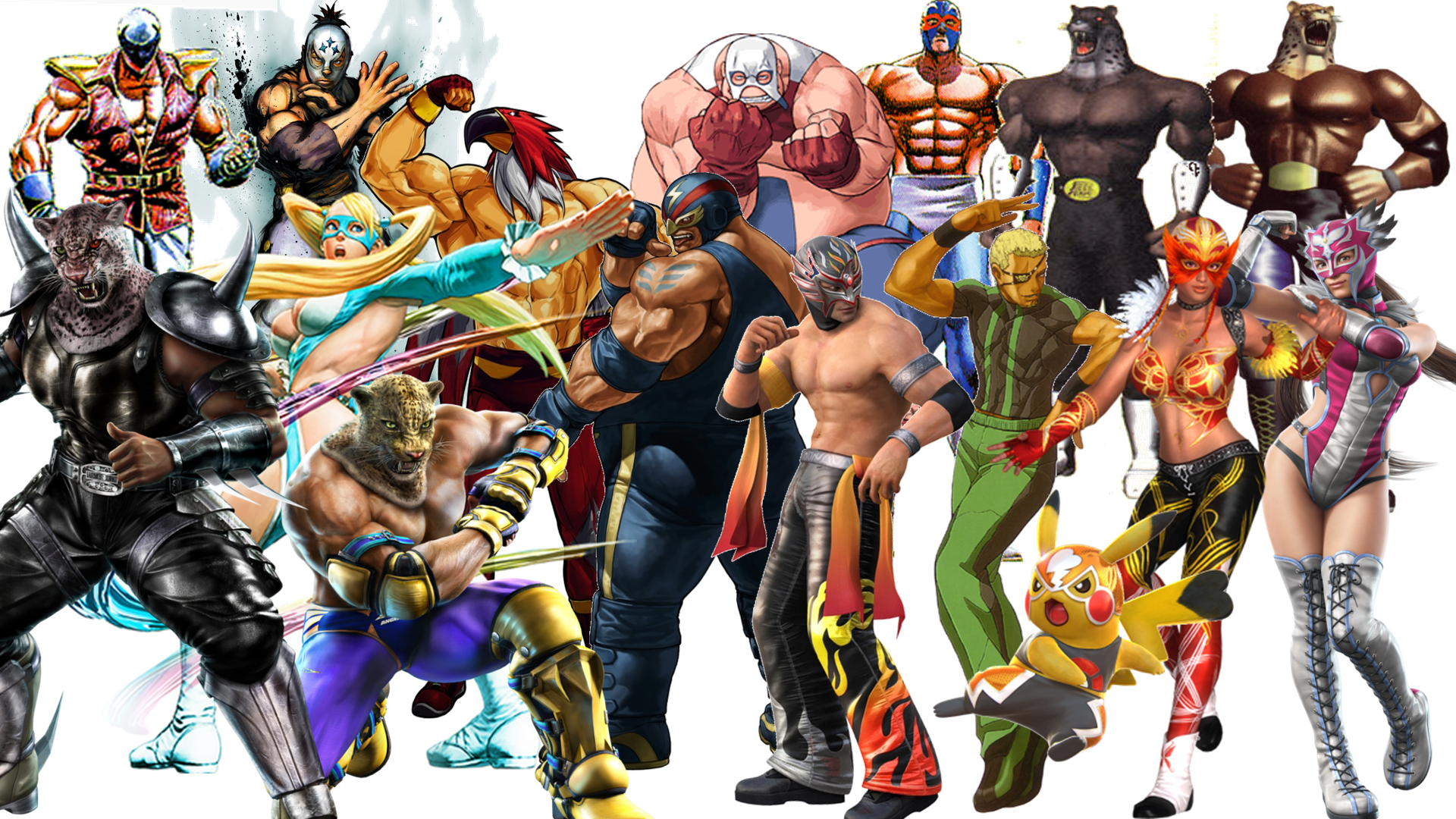 Fighting Game Archetypes: Luchadors