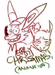 GENESIS SAGA: Merry Christmas by CorrosiveFool