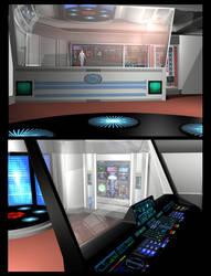Poser - TMP Transporter Room by mdbruffy
