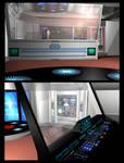 Poser - TMP Transporter Room