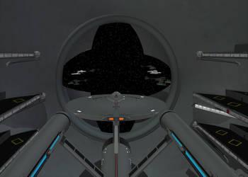 Starbase Docking Berth by mdbruffy