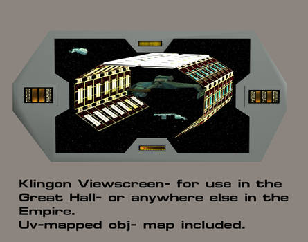 Klingon Viewscreen By Mdbruffy
