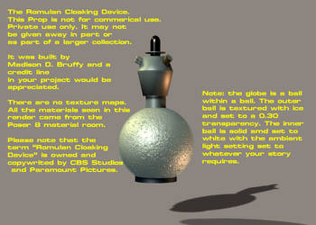 Romulan Cloaking Device