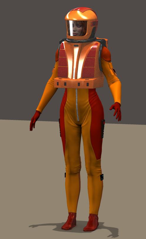 TMP EVA suit by mdbruffy