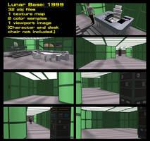 Lunar Base- 1999 by mdbruffy